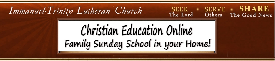 Christian Ed Online 2020
