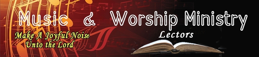 Music & Worship Services volunteers