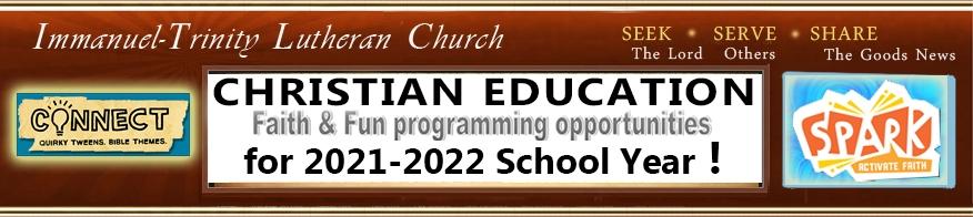 Christian Education 2021-2022a