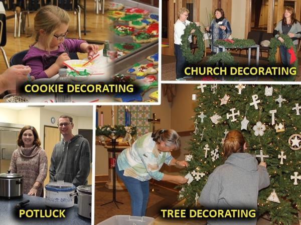 Adventfest, Potluck &Tree Decorating