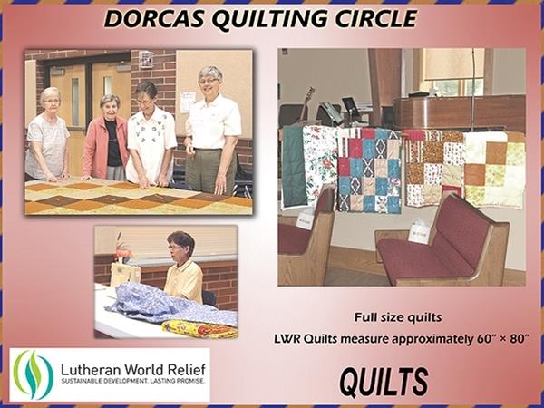 Dorcas Circle Quilting